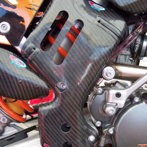 KTM Frame Guards - Tall - 125 to 450 SX/SX-F 2007-10 .... 125 to 530 EXC/EXC-F  2008-11