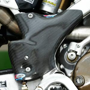 Kawasaki Frame Protection -  KX125 2003-09    KX250 2003-04
