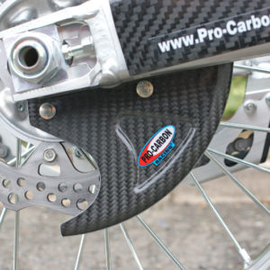 Honda Rear Disc Guard - All CR/CRF 125 to 450 2002-21