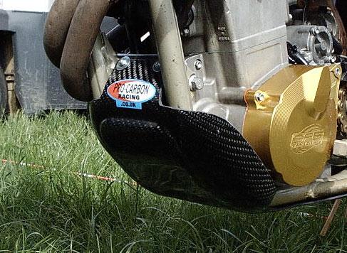 KTM Bashplate - 400 to 525 SX-F 2002-06