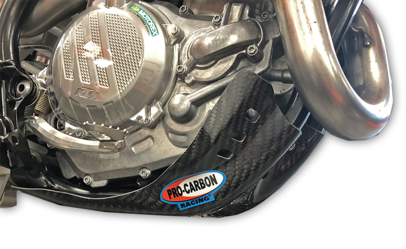 KTM Skid plate - 450 SX-F 2019-22