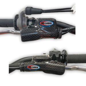 KTM Clutch and Brake Master Cylinder Protector SET  -  SX/SX-F ... XC/XC-F      2014-22