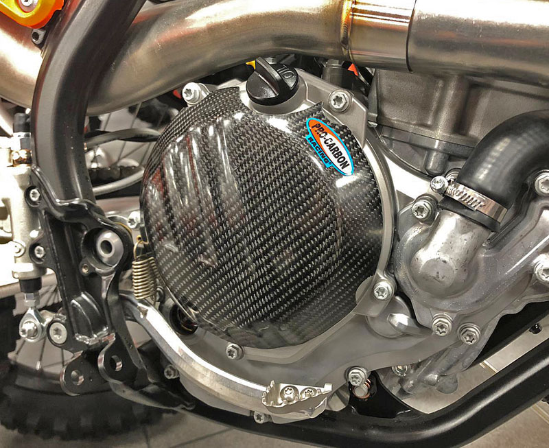 KTM Engine Case Cover - Clutch side - 250/350  EXC-F 2017-22