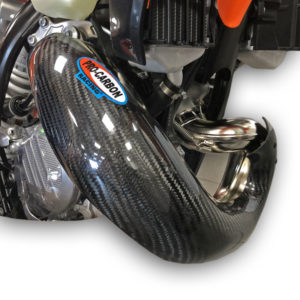 KTM Exhaust Guard - Year 2020-22 - 150 EXC TPI    -   Standard Pipe