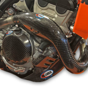 KTM Exhaust Guard - Years 2019-22 - 250 SX-F