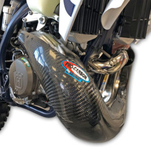 KTM Exhaust Guard - Years 2020-2022 - 250/300 EXC     -   Standard Pipe