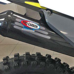 KTM Exhaust Silencer Skin -   250 EXC TPI / 300 EXC  TPI 2020-22 (including 6 days)
