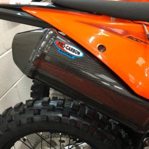 KTM Exhaust Silencer Skinz -   EXC-F 250/350/450/500  2017-19