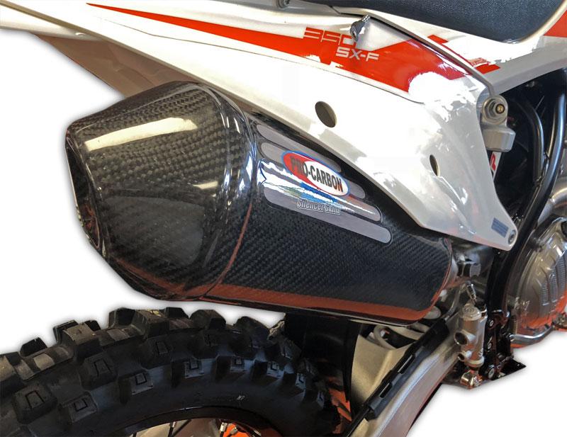KTM Exhaust Silencer Skinz -   SX-F 250/350/450  2016-18