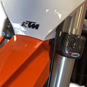 KTM Lower Clamp Protector -   SX/SX-F 2016-21 .... XC/XC-F 2017-21 .... EXC/EXC-F 2017-21