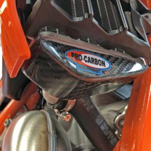 KTM Radiator Protector -   SX/SX-F ...  XC/XC-F ... EXC/EXC-F  125 to 520 Year 2019-22