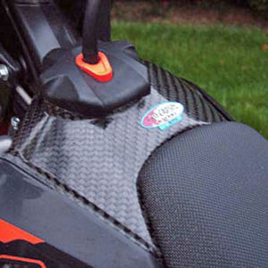KTM Tank Cover 2007-10 Top - 125 to  530 SX / SX-F