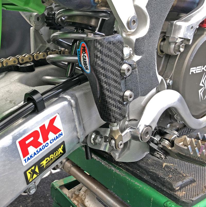Kawasaki Rear Brake Master Cylinder Protector - KX250F 2017-20