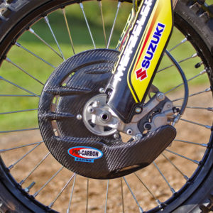 Beta Front Disc Guard - Including Fitting Kit - RR models from 2013-21 **NOT KYB FORKS