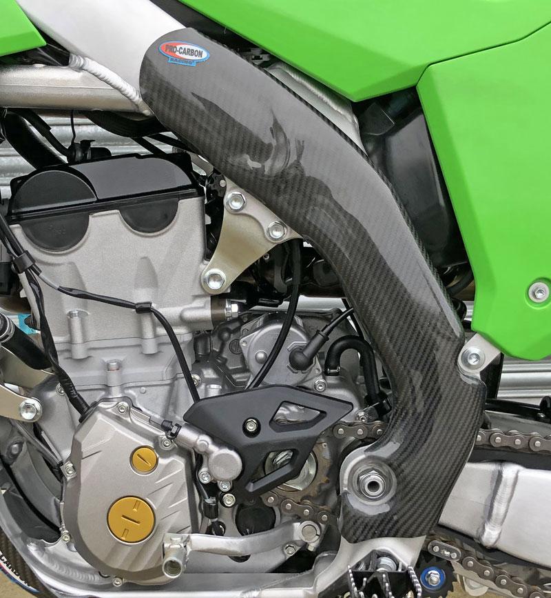 Kawasaki Frame Protection - Tall - KX450F  2019-21