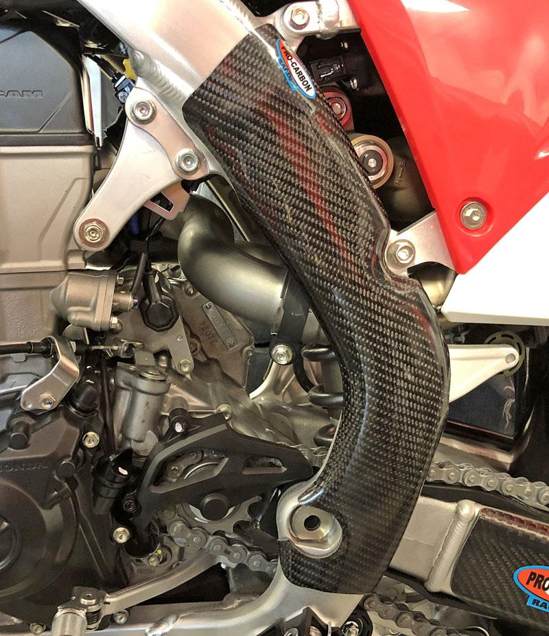 Honda Frame Protection - Tall - CRF450R 2019-20