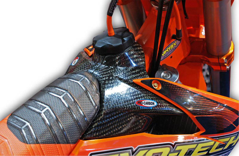KTM Tank Cover 2011-15 Top - 125 to 450  SX / SX-F