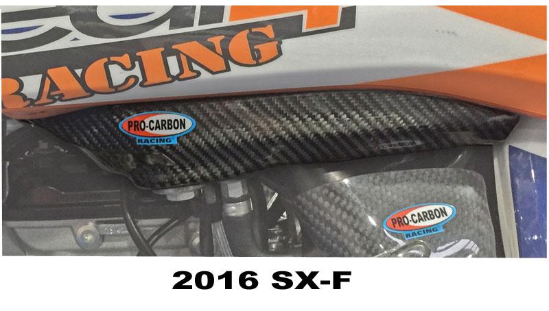 KTM Tank Cover 2016-18 Sides - 250/350/450 SX-F