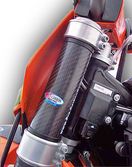 Honda Top Upper Fork Protectors - CR 125/250 All years