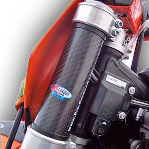 KTM Top Upper Fork Protectors - 85 SX All years