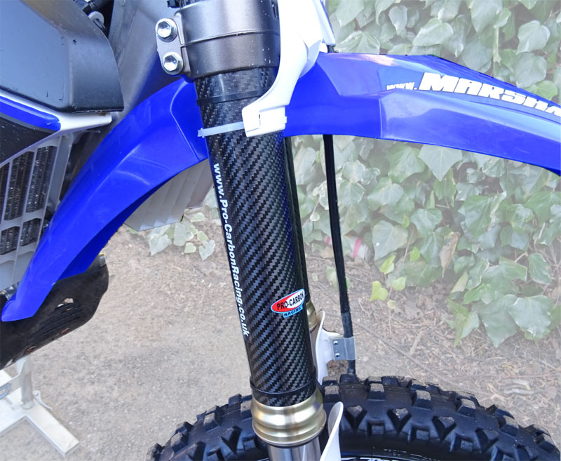 Yamaha Upper Fork Protectors - YZ85 All years