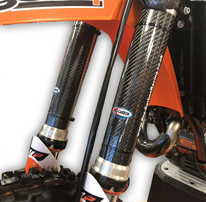 KTM Upper Fork Protectors - 125 to 530 SX / EXC / XC  - All years