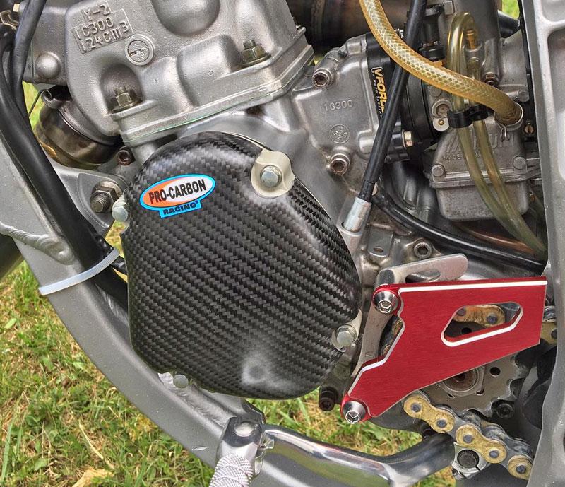 Yamaha Engine Case Cover - Ignition side - YZ125 2005-21