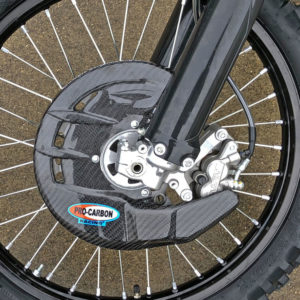 Yamaha Front Disc Guard - Including Fitting Kit - YZ125 YZ250 from 2004-21