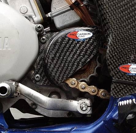 Yamaha Front Sprocket Cover - YZ125 1997-2004